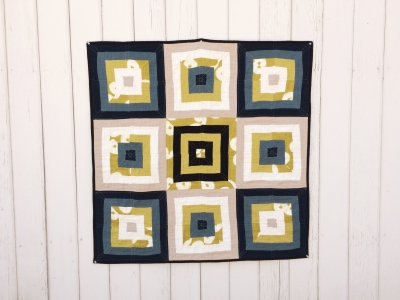 Mod Squares Baby Quilt